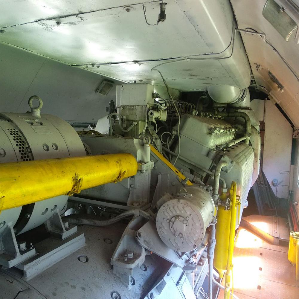 Мотор локомотив ulbc